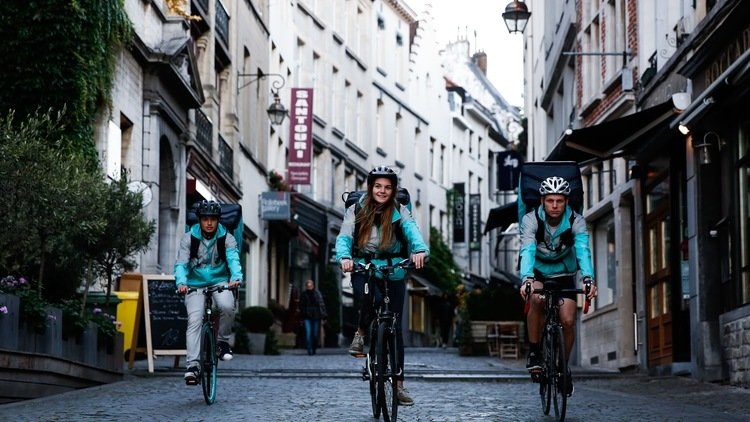 Deliveroo s'étend en France